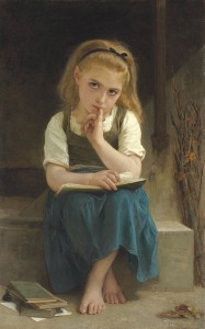 William-Adolphe_Bouguereau_-_La_Leçon_Difficile (1)